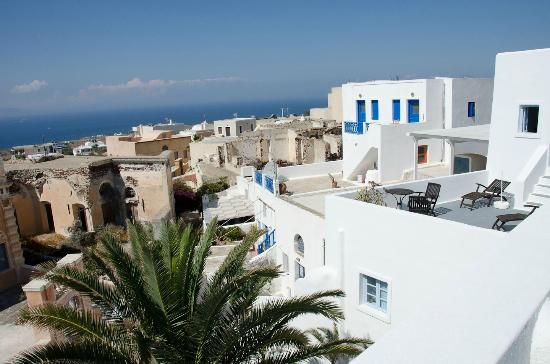 Aethrio Hotel : The view
