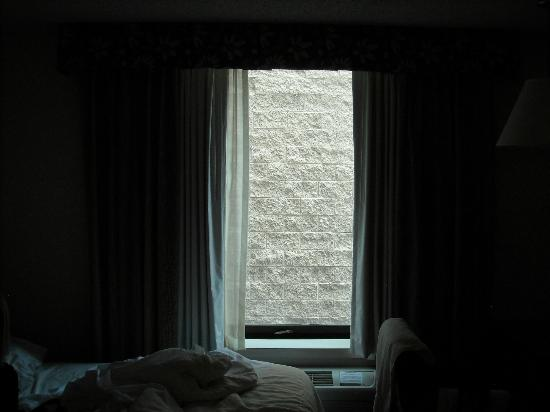 Baymont Inn & Suites Lake Dillon: Our window