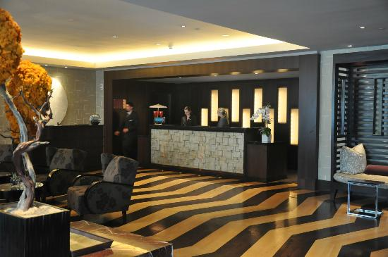 Front Desk Picture Of Kimpton Hotel Palomar Los Angeles Beverly