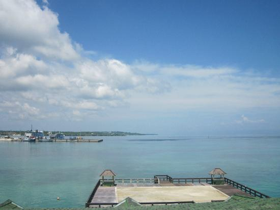 ‪‪Bohol Tropics Resort‬: View from the hotel‬