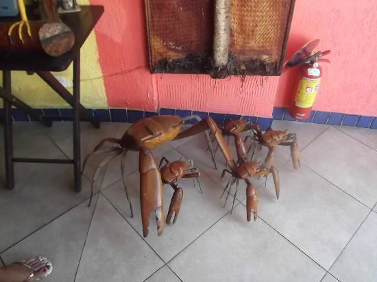 Porto Gallo Bar e Restaurante : artesanato local