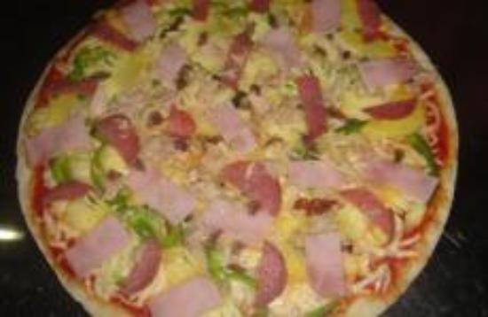 Happy Herb Pizza