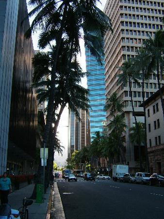 Honolulu Harbor: Honolulu Financial District