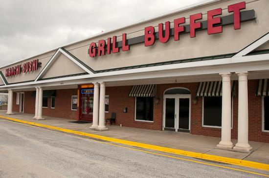 Hibachi sushi Grill Buffet
