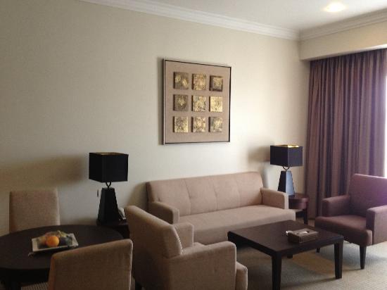 Grands I Hotel: sofa