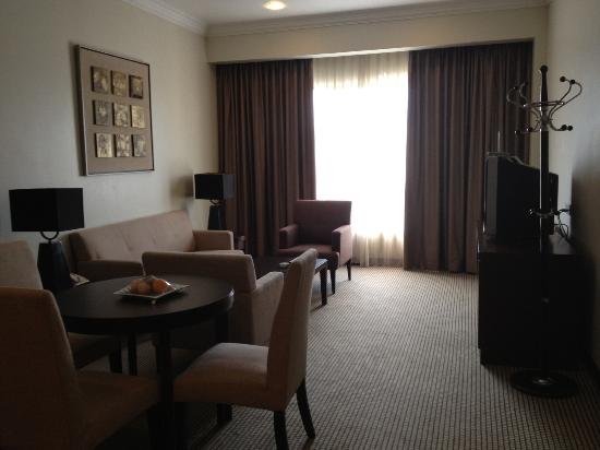 Grands I Hotel: living room (of the 1 bed room suite)