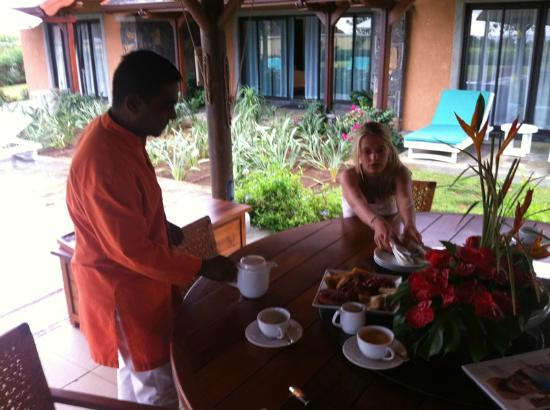 Club Med Albion Villas - Mauritius: high tea