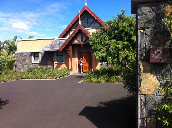 Club Med Albion Villas - Mauritius: villa achterkant