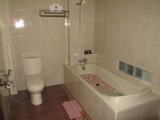 Bisma Sari Resort: Bath