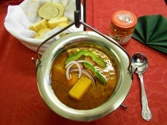 The famous Goulash soup