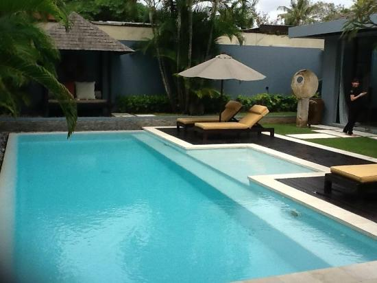 Kembali Villas: Our private pool