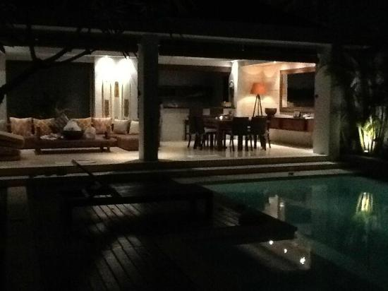 Kembali Villas: Our chill-out area