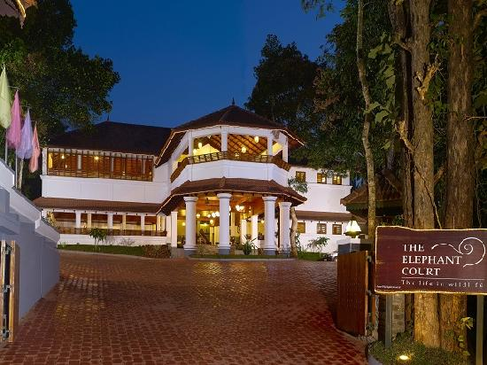 The Elephant Court Thekkady: Front View