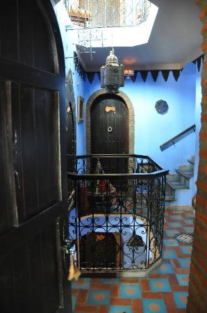Dar Zman: Холл отеля