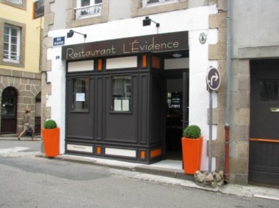 Restaurant l'Evidence Photo