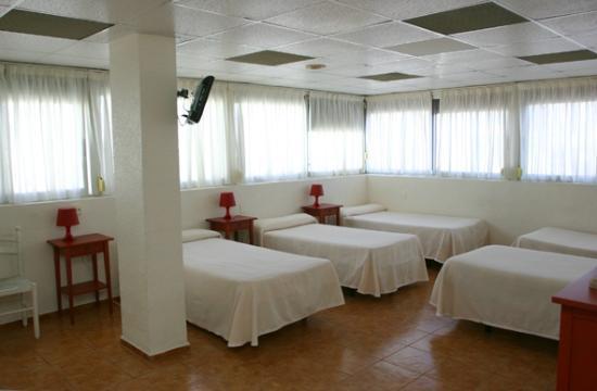 Hotel Cervantes : Habitación múltiple en planta superior