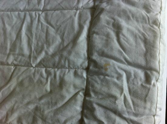 Tangrenjie Hotel: Mancha sospechosa en el colchón