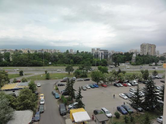 Hotel ATM Centre: Widok z okna na 6 piętrze