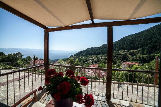 """Ilaeira Mountain Resort: View from """"Keratakia"""" balkony"""