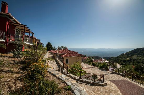 Ilaeira Mountain Resort: View from the villas