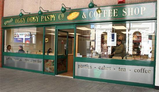 Oggy Oggy Pasty Company Plymouth 15 Raleigh St