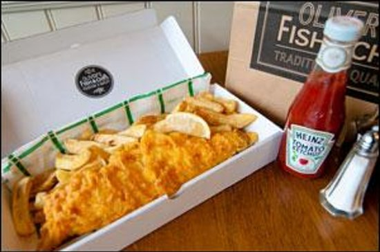 Oliver 39 s fish chips london 95 haverstock hl for Fish and chips london