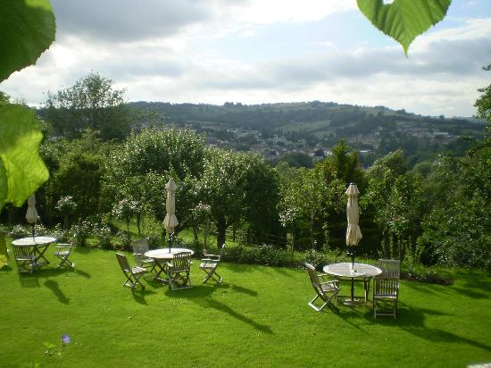 Tasburgh House Hotel Ltd: View of Terraced Garden