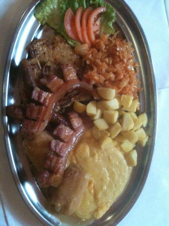 Restoran Bendek: Slavonian lunch