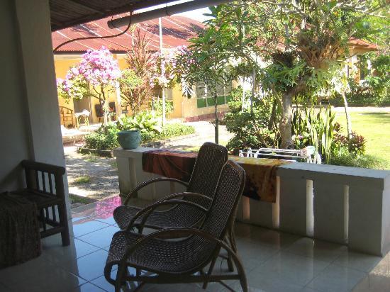 Karangsari Guest House: our terrace