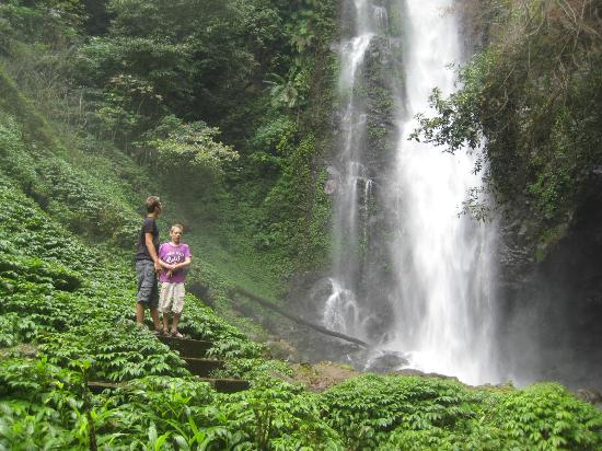 Karangsari Guest House: one of the waterfalls (easy to walk to)
