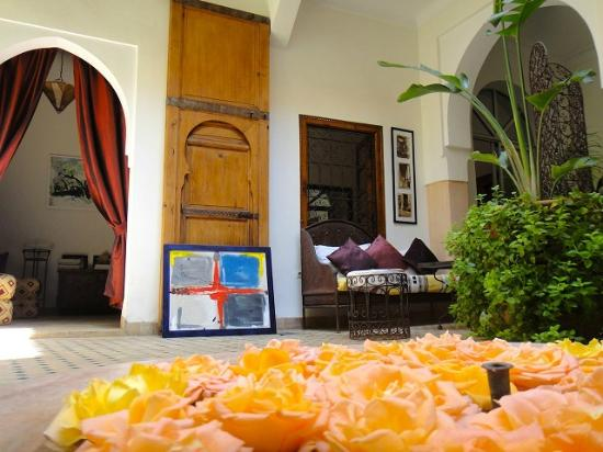 Riad Limouna: Le patio