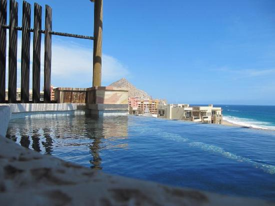 The Resort at Pedregal: view from our plunge pool
