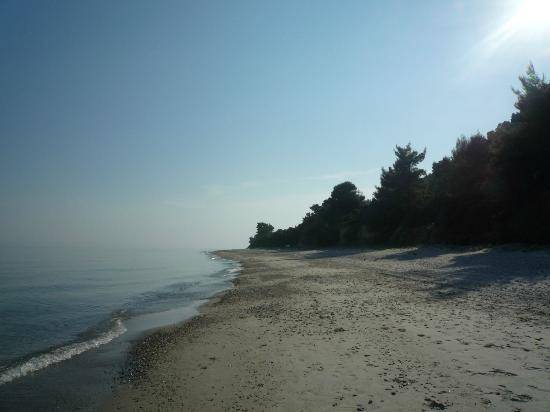 Kalandra, Grekland: Beach