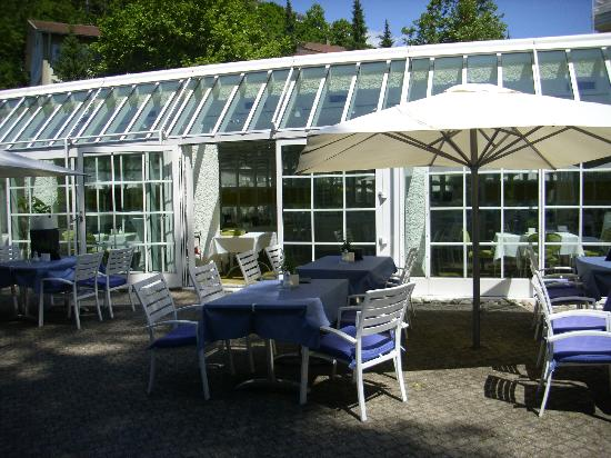 Best Western Premier Parkhotel Bad Mergentheim: Cafe im Kurpark