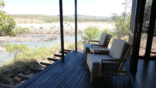 El Questro Homestead: View from the veranda