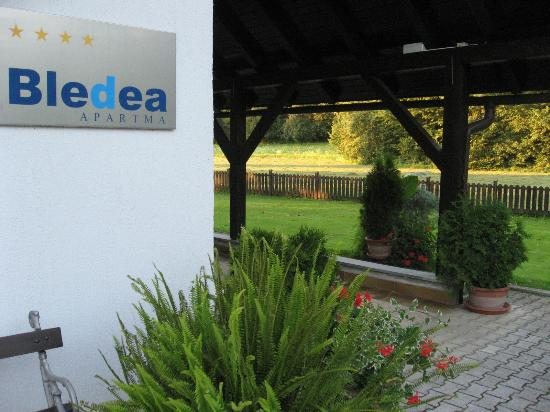 Bledea Apartments: Entrance