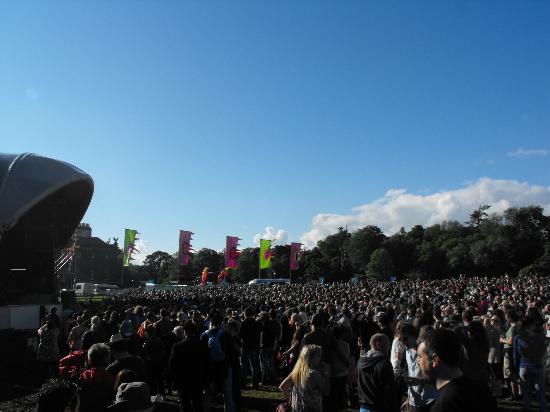 Westport House Camping & Caravan Park : The crowds