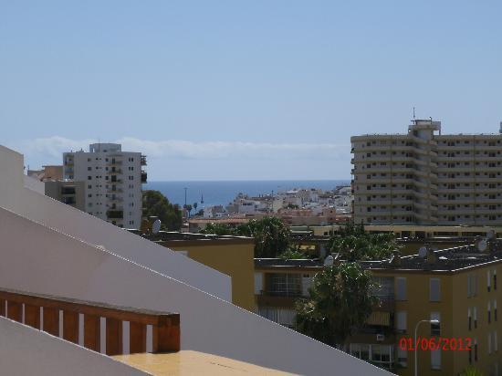 Apartamentos HG Cristian Sur: sea view from balcony