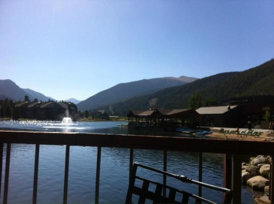 Keystone Lodge & Spa: View from the Edgewater Cafe