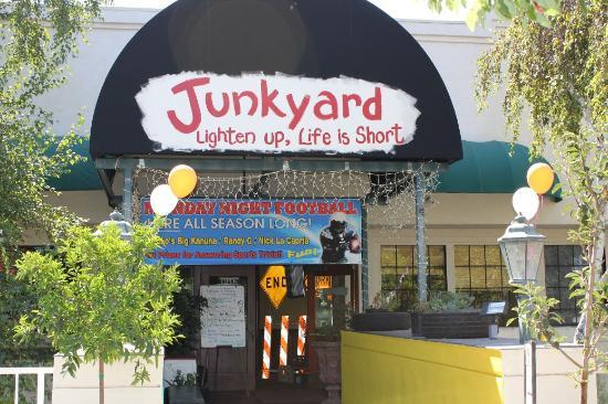 Junkyard Restaurant Simi Valley Menu