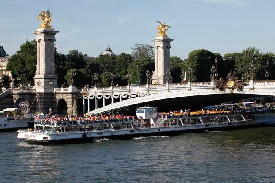 la tour eiffel vue du bateau photo de bateaux mouches paris tripadvisor. Black Bedroom Furniture Sets. Home Design Ideas