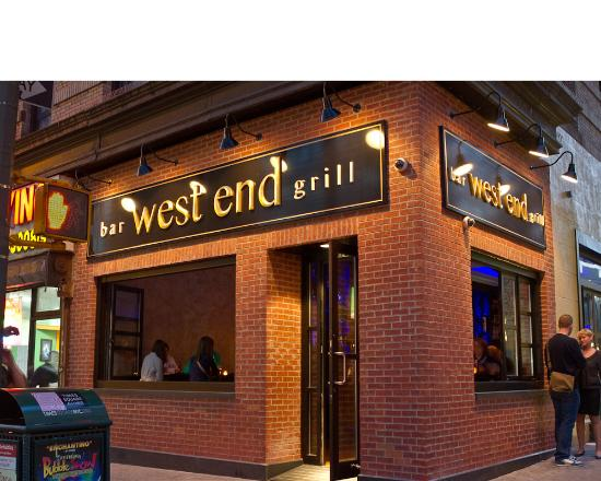 West End Bar Amp Grill New York City Midtown Menu