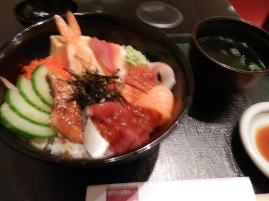 Mitsukoshi: ランチのちらし寿司