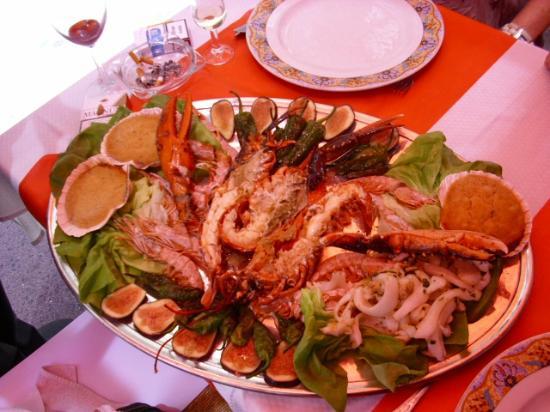 Restaurante La Borda: la Mariscada