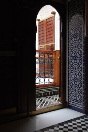 Riad Layali Fes: Porte de la chambre