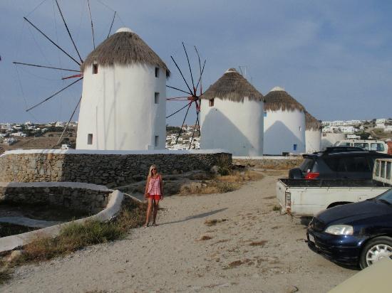 Poseidon Hotel - Suites: MYKONOS WINDMILLS!!