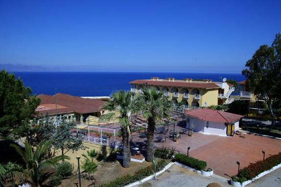 Terrasini, Italy: Vista hotel