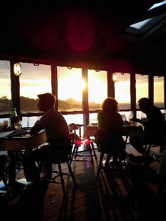 Mattakeese Wharf: Sunset over the harbor