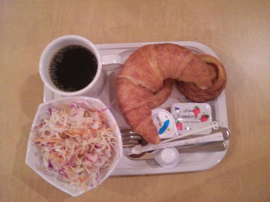 Keio Presso Inn Higashi-Ginza: morning