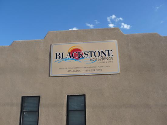 Outside Blackstone Hotsprings